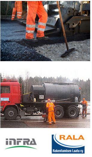 Asfaltti, asfaltointi pääkäupunkiseudulla